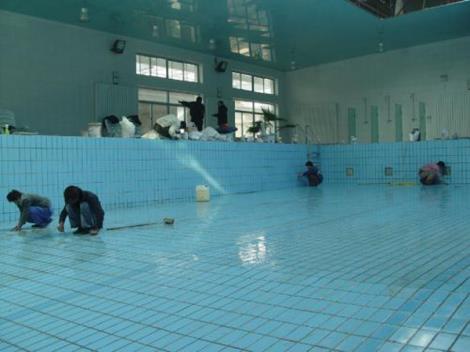 南京游泳池防水