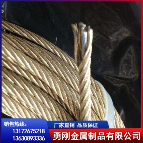 镀铜钢丝绳