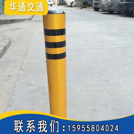 防撞防护柱安装