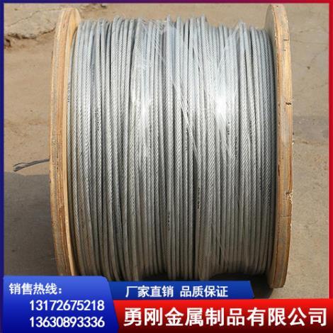 镀锌钢丝绳生产厂家