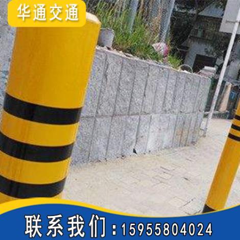 分道隔离柱施工