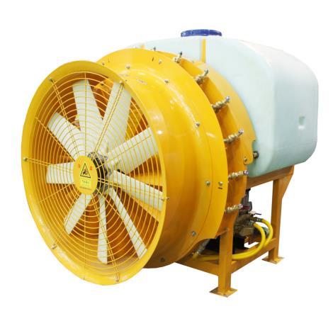 瓦力机械拖拉机悬挂风送弥雾喷药机