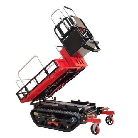 瓦力機械 3BD-350 電動履帶果園液壓升降采摘作業平臺
