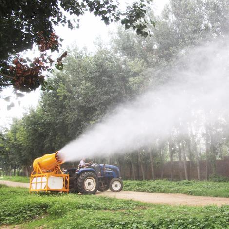 瓦力机械 拖拉机悬挂远程风送弥雾雾炮机 1000L