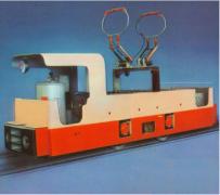 10噸架線電機車