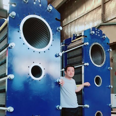 板式冷凝器加工