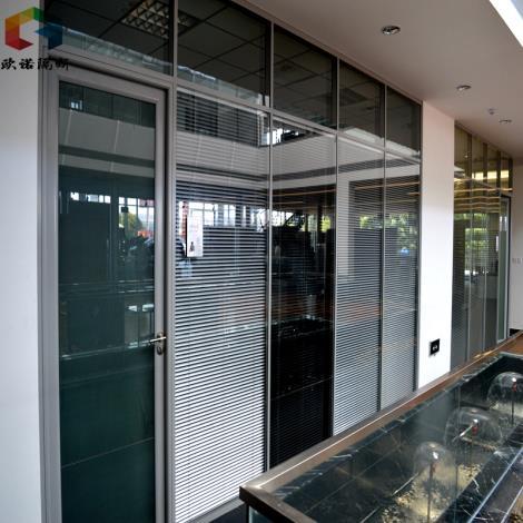 威海防火玻璃隔断铝型材框架耐火性能