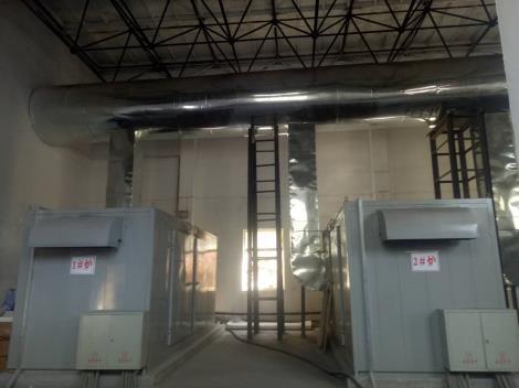 井口電加熱機組、電熱風爐