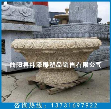 花盆石雕厂家定做