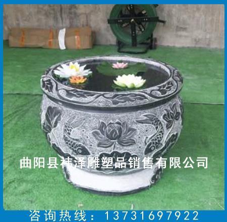 雕塑鱼缸定制
