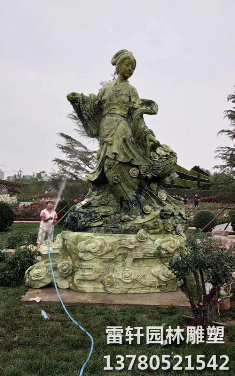 牡丹仙子雕塑