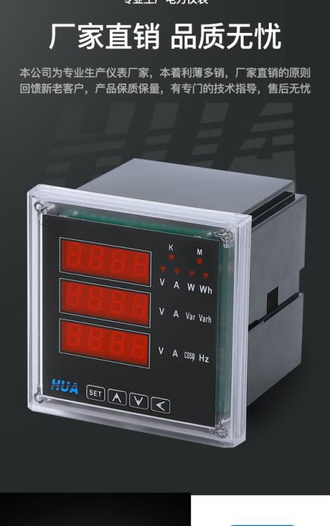數字式電壓測量儀表
