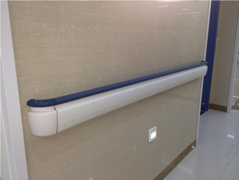 医院走廊扶手安装