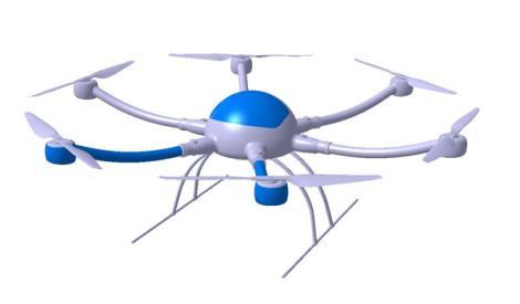 XH230E多旋翼无人机系统