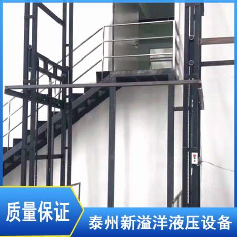 导轨式升降货梯定制