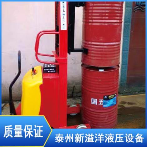 手动油桶卸料车