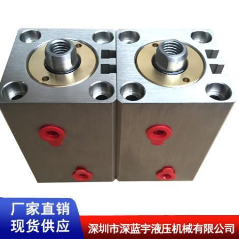 不锈钢磁感应油缸扁形卧式