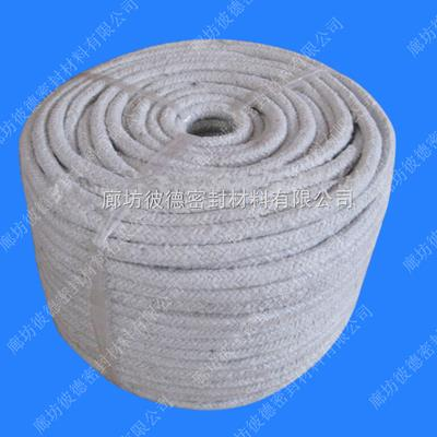批發硅酸鋁陶瓷纖維圓編繩,高溫爐門硅酸鋁