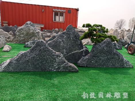 雪浪石组合大型景观石生产商