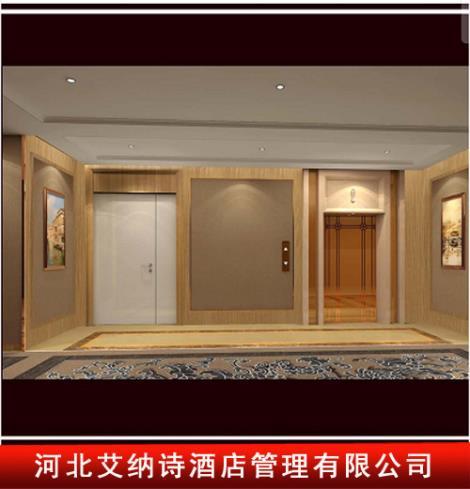 三层电梯间