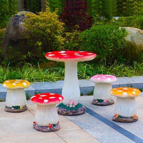 园林玻璃钢桌椅