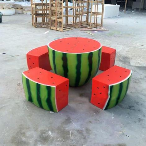 園林藝術長凳