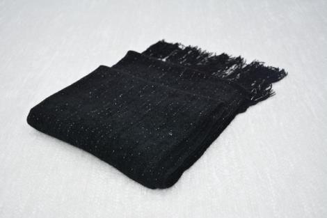 格子仿羊绒围巾7