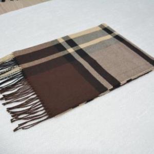 格子仿羊絨圍巾29