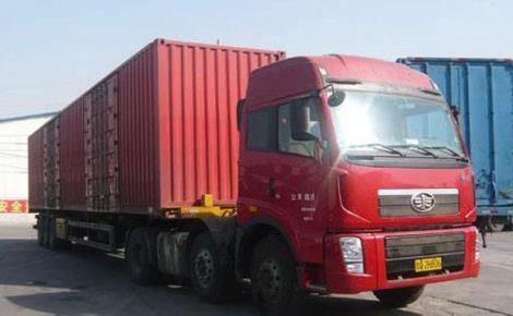 张家港集装箱货物运输