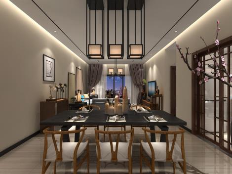 新中式装饰风格设计