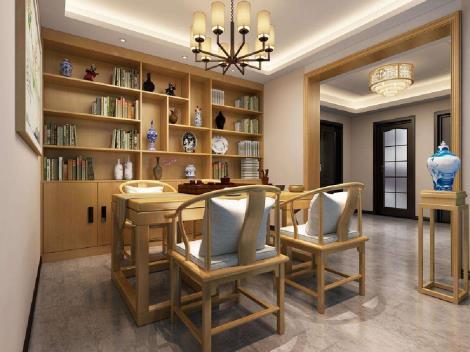 新中式装饰风格设计方案