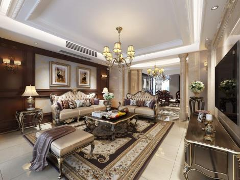 欧式风格装饰室内装潢