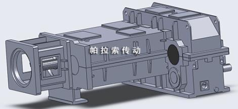 新型同向锥形双螺杆减速机定制