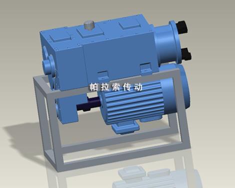 新型异向锥形双螺杆挤出机减速机生产厂家