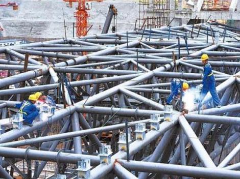 钢结构现场拆除安装