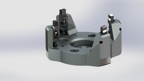 互補式環槽銑刀盤