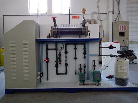 小型次氯酸钠发生器一体机