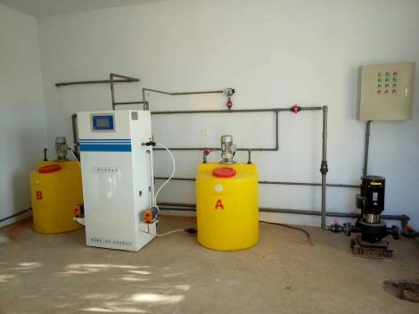 二氧化氯发生器粉剂投加器