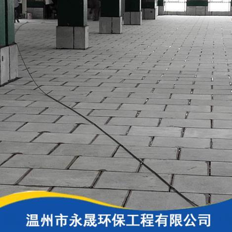 石材防腐地坪施工過程