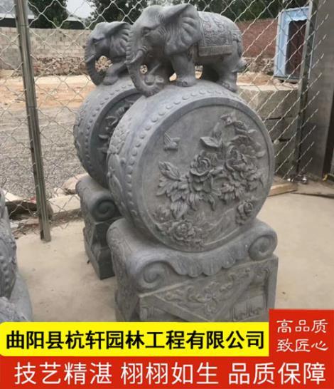 石雕仿古门墩