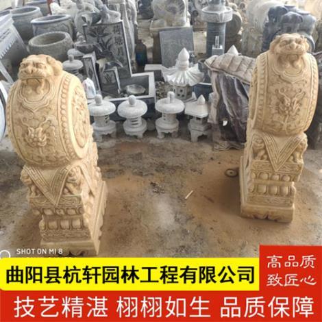 石雕仿古门墩供应商