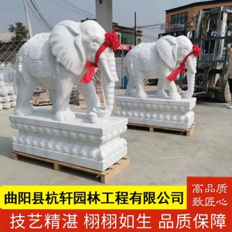 河北石雕大象