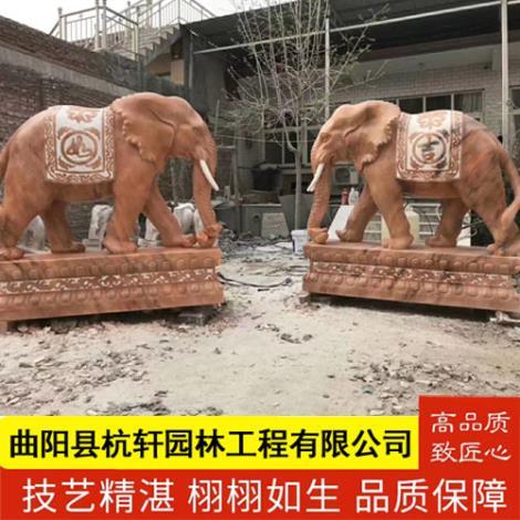 保定石雕大象