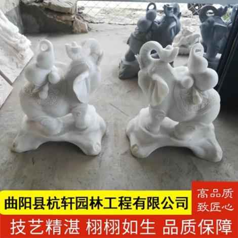 曲陽石雕大象