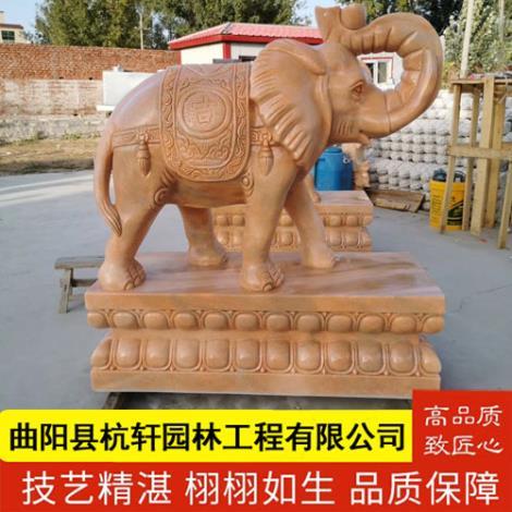 石雕大象定制