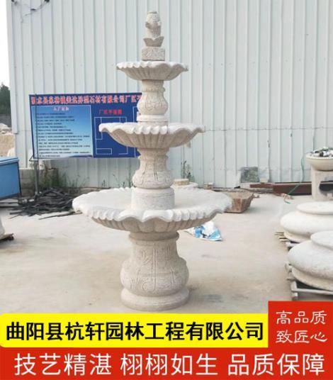 石雕喷泉定制