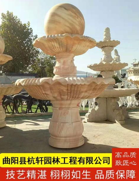 石雕喷泉销售