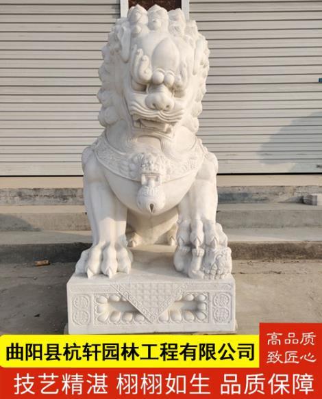 石雕狮子厂家定制
