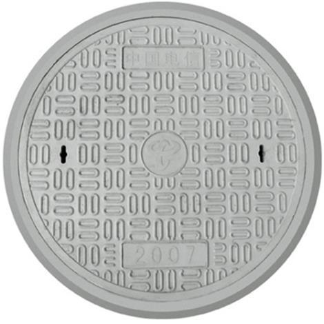 新型复合树脂圆型井盖