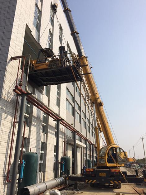 扬州平台吊装